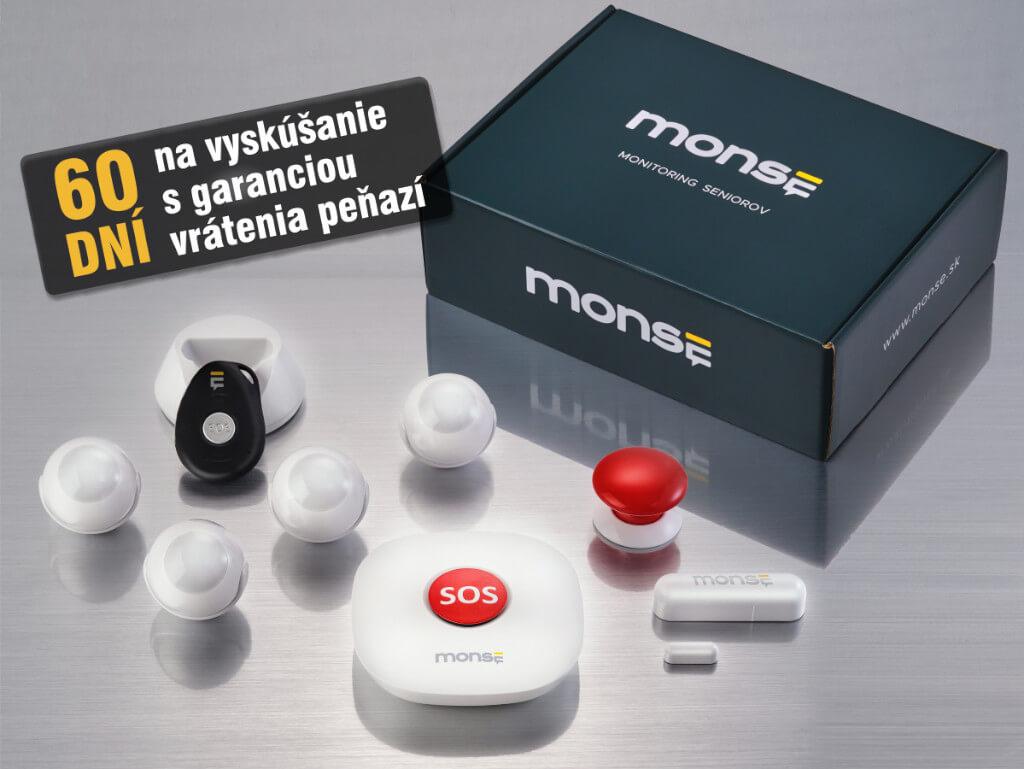 MONSE senzory